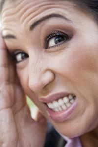 Botox Stirnfalten